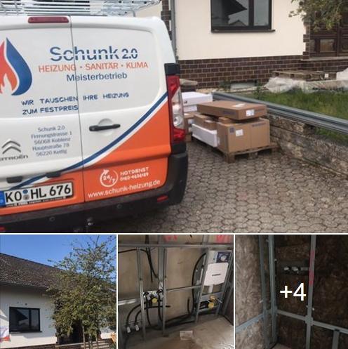 Gis-Gestelle für 5 Bäder vorbereitet. by Schunk 2.0