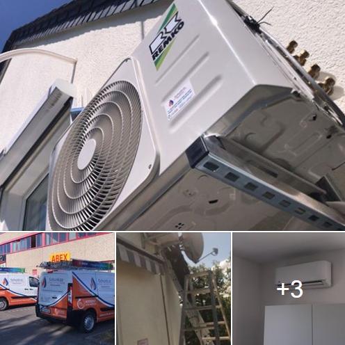 REMKO Split Klimaanlage im Herzen von Koblenz eingebaut