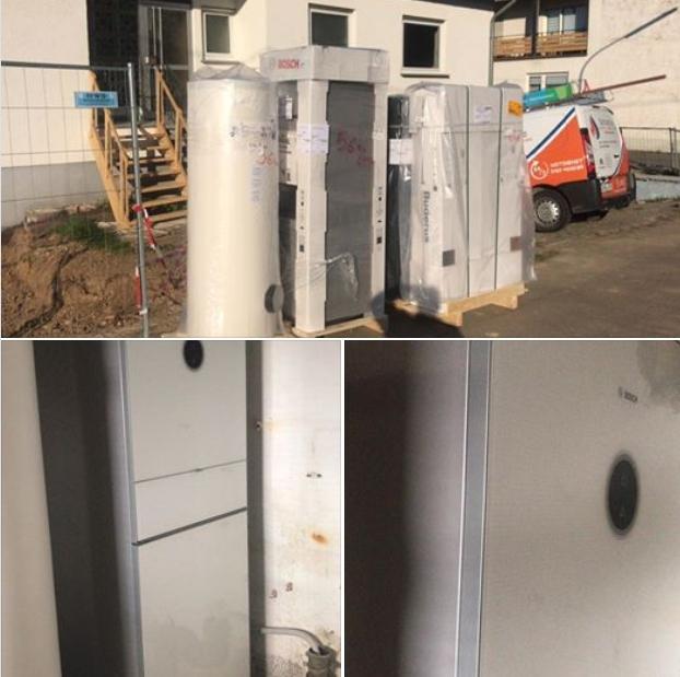 Schunk 2.0 in der Eifel - Wärmepumpe einbauen