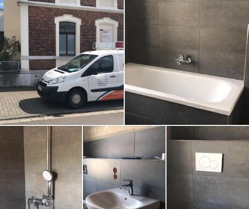 Neues Traumbad in Bendorf. Geberit und Marken-Sanitär runden das Bad ab
