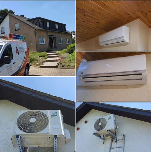 Klimaanlage Klima-Split-Gerät in Bassenheim