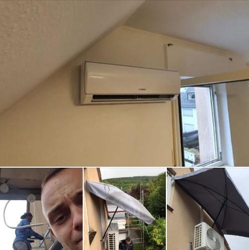BOSCH Klimaanlage in Koblenz Horchheim im Dachgeschoss