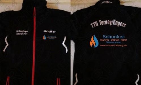 Tischtennis Jugend TTG Torney Engers - Schunk 2.0 als Sponsor