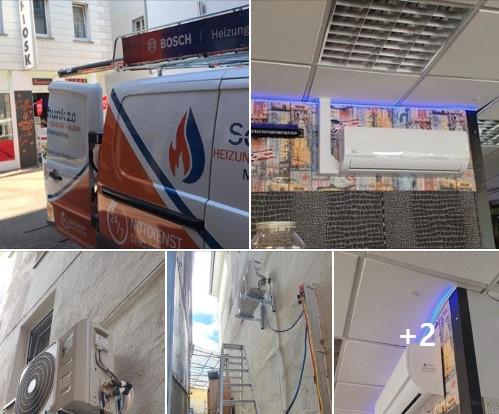 Klimaanlage in Boppard - REMKO 2.6 KW Multisplit-Gerät