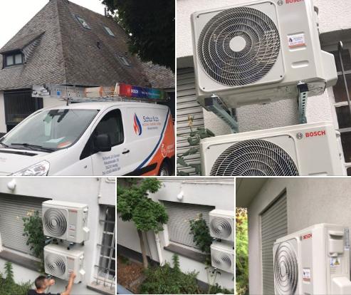 BOSCH Klimaanlage in Villa in Neuwied