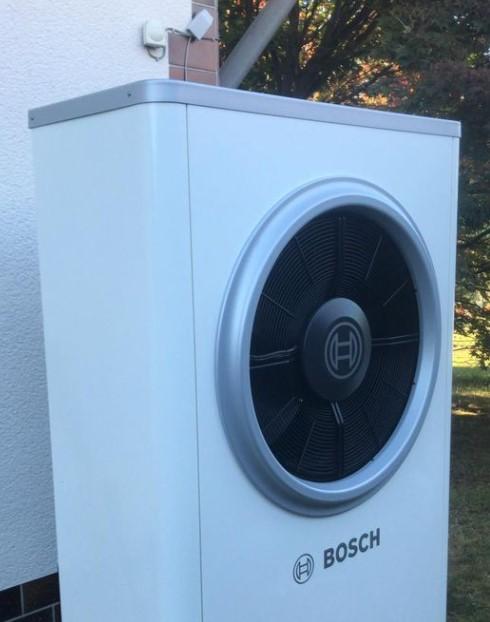 Wärmepumpe von BOSCH in Kettig bei Mülheim-Kärlich. By Schunk 2.0 Heizung-Sanitär-Klima