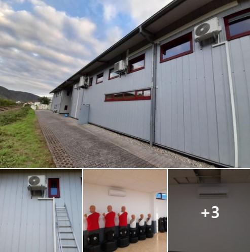 Klimaanlage in Sicherheits- und Kampfsportschule von www.larsweiler.de - by Schunk 2.0