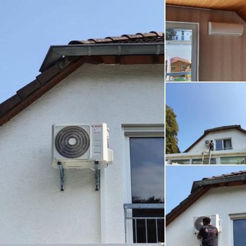 BOSCH Climate 5000 Klimaanlage Wandgerät in Andernach am Rhein - by Schunk 2.0 Heizung-Klima-Sanitär