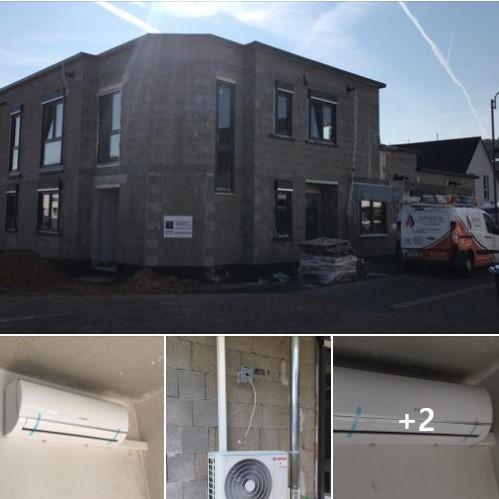 Zwei Klimaanlagen Split Wandgeräte von BOSCH in Mülheim-Kärlich. By Schunk 2.0 Heizung-Klima-Sanitär
