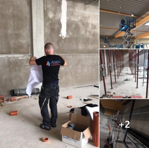 REWE XXL in Rheinbach. Schunk 2.0 mit Sanitär, Heizung und Klima dabei