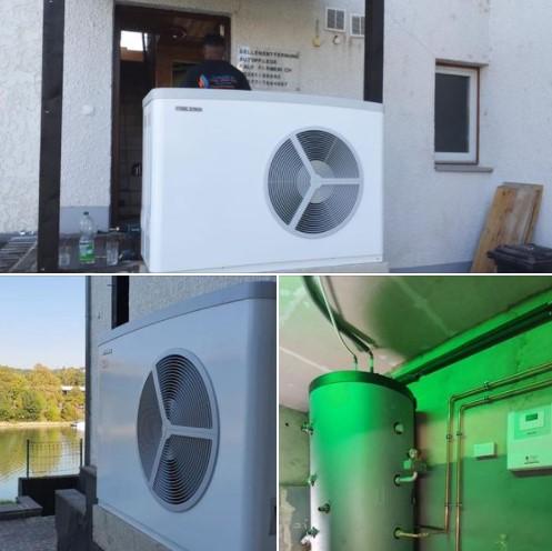 Wärmepumpe in Koblenz Niederwerth - ersetzt alte Ölheizung. Natürlich mit BAFA Förderung