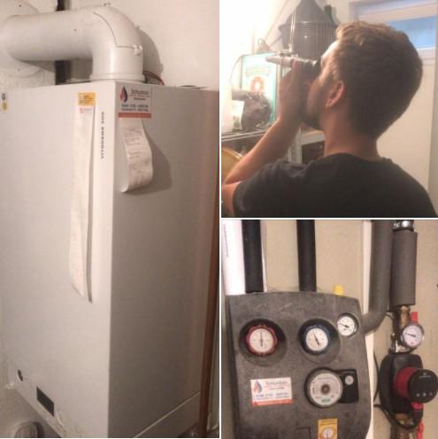 Wartung Vitodens 300 von Viessmann. Therme und Solaranlage gecheckt - by Schunk 2.0 Heizung-Sanitär-Klima