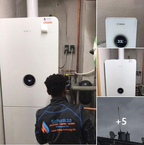 Gas Brennwert von BOSCH günstig in Weissenthurm eingebaut -by Schunk 2.0