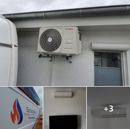 Zwei Klimaanlagen aus unserem Angebot in Mülheim-Kärlich. By Schunk 2.0